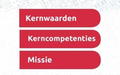 Kernwaarden, kerncompetenties en Missie
